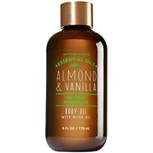 Bath & Body Works Almond & Vanilla Body Oil